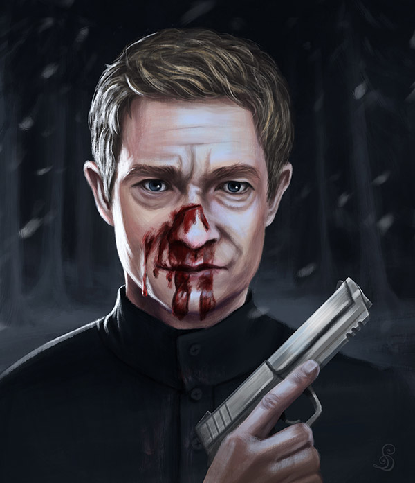 Fargo Fanart - Martin Freeman as Lester (2018)
