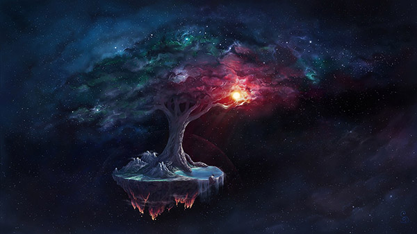 Cosmic Tree of Life (2020)